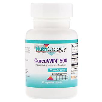 Nutricologie, CurcuWin 500, 30 capsules végétariennes