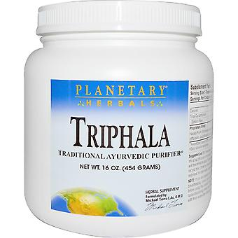 Planetary Herbals, Triphala, Pulver, 454 g