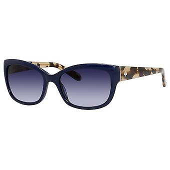 Sonnenbrille Damen  Johanna  blau/braune Schildkröte