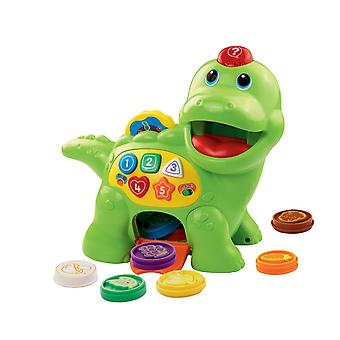VTech Baby Feed Me Dino Educational Interactive Learning Toy Multi Coloured