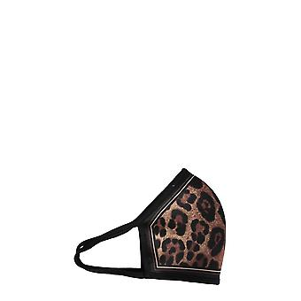 Dolce E Gabbana Fy349tgeq19ha93m Mujeres's Leopard Polyester Eye Mask