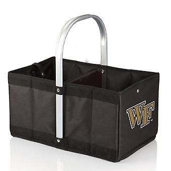 Urban Basket - Black (Wake Forest University Demon Deacons) Digital Print