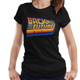 Back to the Future Gradient Logo Women's T-Shirt