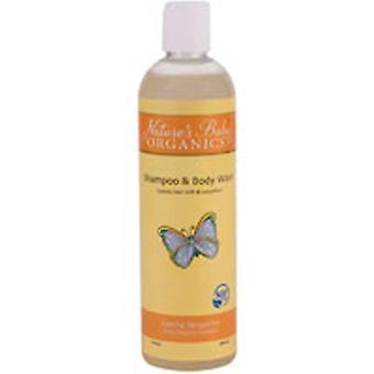 Nature's Baby Organics Shampoo and Body Wash, Coconut Pineapple 16 oz