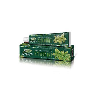 Green Beaver Natural Toothpaste, Spearmint 2.5 fl oz