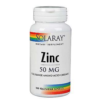 Solaray zinco, 50 mg, 100 tappi
