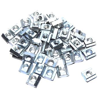 50pcs M5 Sliding Block T Nut