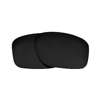 العدسات البديلة المستقطبة لنظارات أوكلي شظية النظارات الشمسية المضادة للخدش الأسود