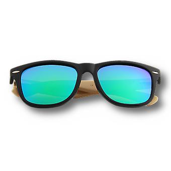 Real Bamboo Wood Wanderer Style Sunglasses