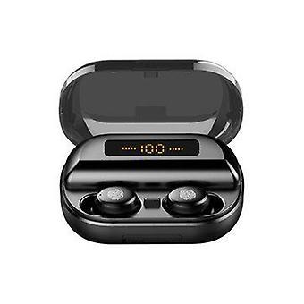 Mini Portable Wireless bluetooth 5.0 Earphone LED Display Stereo