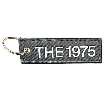 1975 מחזיק מפתחות תיקון להקה לוגו חדש רשמי שחור