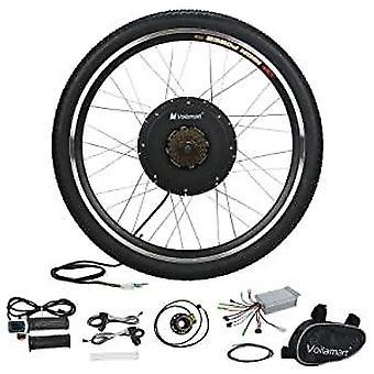36v10ah Bateria de lítio Ebike, Kit de Conversão de Bicicleta Elétrica Kit Front Rear Hub