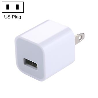 High Quality 5V / 1A US Socket USB Charger Adapter, For  iPhone, Galaxy, Huawei, Xiaomi, LG, HTC and Other Smart Phones, Rechargeable Devices(White)