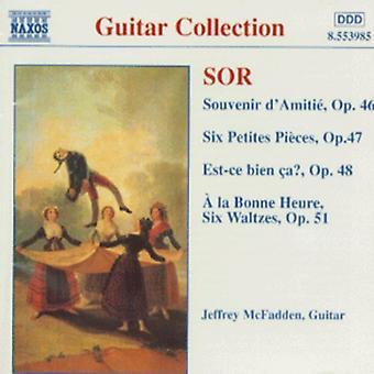 F. Sor - Guitar Music Opp. 46-48 50 & [CD] USA import