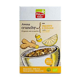 Gluten Free Oat Crunchy Muesli With Ginger And Lemon None