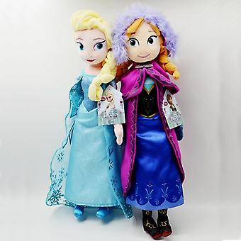 Girl Birthday 2pcs 50cm Anna& Elsa Plush Toys Doll