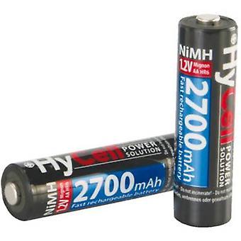 HyCell HR06 AA batéria (nabíjateľná) NiMH 2400 mAh 1,2 V 4 ks (s)