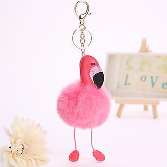 Portachiavi ornamenti per auto flamingo