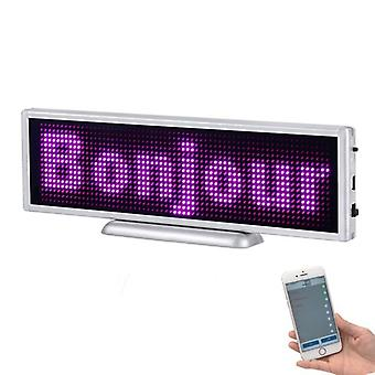 Bluetooth Rechargeable Led Display - Portable Scrolling Screen