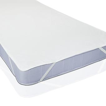Mattress Protector Waterproof Molton 90 X 200cm White