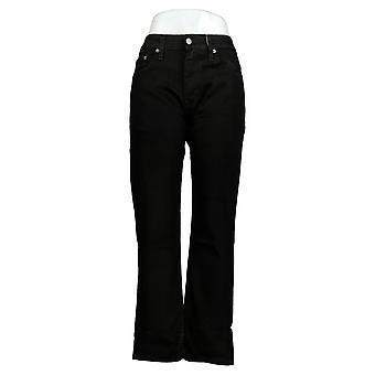 Levi's 514 Men's Straight Jeans 29x30 Cotton 5 Pockets Black