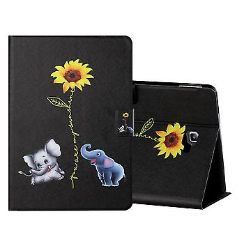 For Samsung Galaxy Tab A 10.1 T580 / T585 2016 Motif 6 Tablet Bag Art Leather Case Case