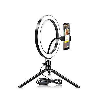 قاد Usb سيلفي حلقة ضوء الهاتف الخليوي الإضاءة التصوير مع ترايبود