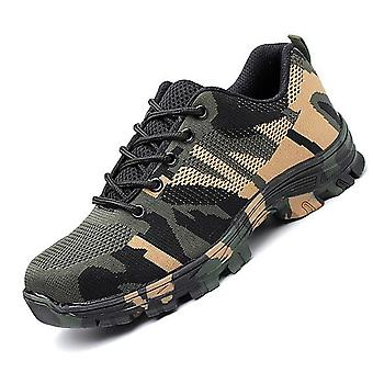 Construction Indestructible Steel Toe Cap Work Safety Military Boot