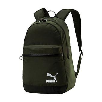 Puma Originals Daypack Backpack 2 Strap Rucksack Green Unisex Bag 075086 06 A42D