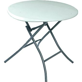 Lifetime 2.7 ft (0.83 m) Round Folding Table - White