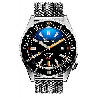 Squale MATICXSG.ME22 600 Meter Swiss Automatic Dive Wristwatch Mesh