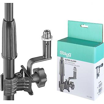 Stagg scl-mia universal microphone holder with clamp