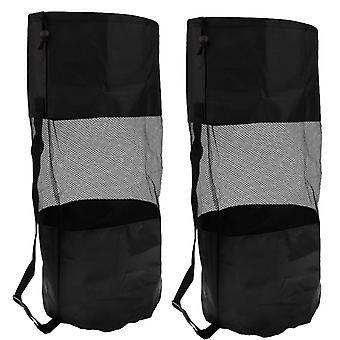 2pcs الثقيلة حقيبة الغوص شبكة الخدمة الشاقة، Drawstring تخزين الحقيبة الغوص الغطس