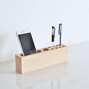 Wood Pen Holder Charging Station