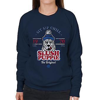 Slush Puppie Retro Sit Sip Chill Women's Sweatshirt