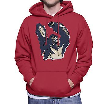 King Kong Arms Up Rage Men's Hooded Tröja