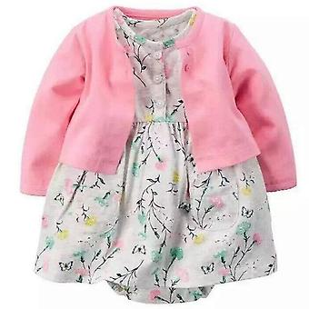 Baby Dress And Cardigan Outfit
