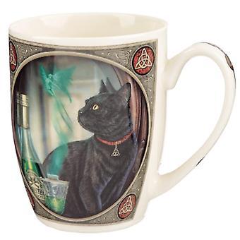 Lisa parker porcelain mug - absinthe cat
