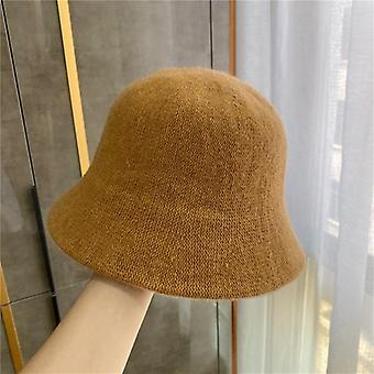 Panama Warm Winter Bucket Wool Hat For Teens Autumn And Winter Hip Hop Hat Cap