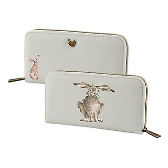 Wrendale Designs Large Purse - Hare-Brained