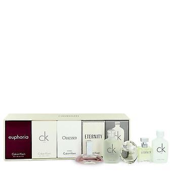 Euforia lahjapakkaus Calvin Klein Deluxe tuoksu kokoelma sisältää CK One, euforia, CK kaikki pakkomielle ja ikuisuuden