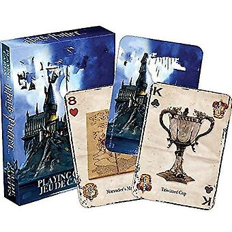 Playing Game Cards, House Potters Collection Badges Symbols Castle Crests Toy