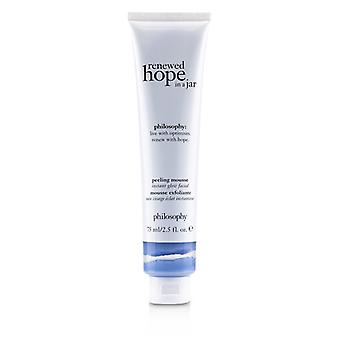 Philosophy Renewed Hope In A Jar Peeling Mousse (One-Minute Mini Facial Exfoliating Face Mask) 75ml/2.5oz
