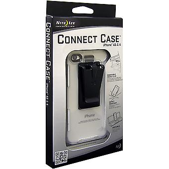 Nite Ize Connect Case for iPhone 4/4S - Clear Translucent