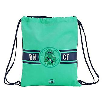Backpack with strings real madrid c.f. green