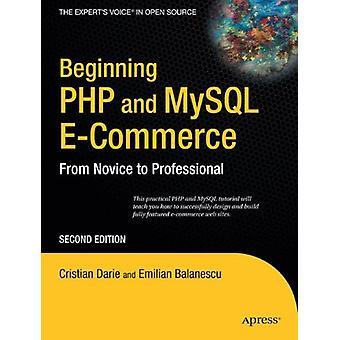 Début PHP et MySQL E-Commerce - Du novice au professionnel par Em