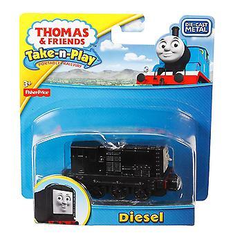 Thomas & amis take-n-play diesel