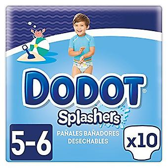 Dodot Splashers Talla 5 10 Unidades de 14 kg