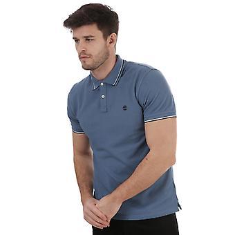 Timberland Miller Tippet Polo skjorte for menn i blått