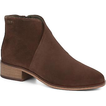 Barbour Womens Caryn Leather Ankle Boots